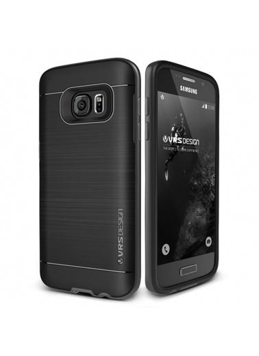 Galaxy S7 High Pro Shield Kılıf Steel Silver-Verus